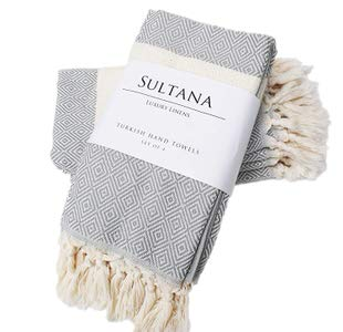 14. Sultana Luxury Linens Hand Towels Set