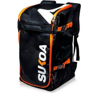 8. Sukoa Sports 50L Ski Boot Bag Backpack