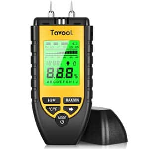4. Tavool Yellow Wood Moisture Meter
