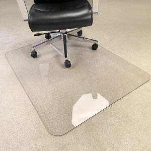 4. Hard Chair Mat by MuArts