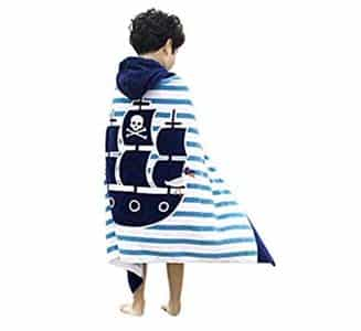 15. JAMORGANIC Hooded Towels for Girls