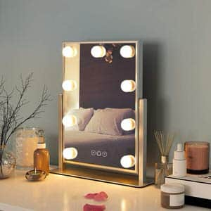 12. FENCHILIN Vanity Mirror with Lights