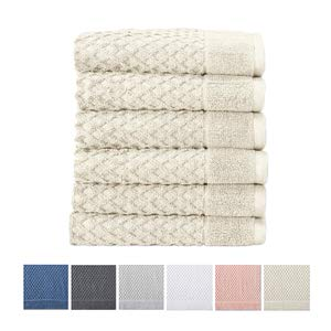 12. Cotton Hand Towel Set by Great Bay Home