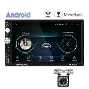 10. Hikity  7 Inch Touch Screen Android Double Din Car Stereo