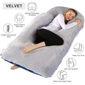 15. Chilling Home Pregnancy Pillow