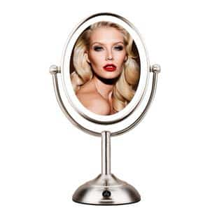 "11. MIRRORMORE 8"" Lighted Makeup Mirror"