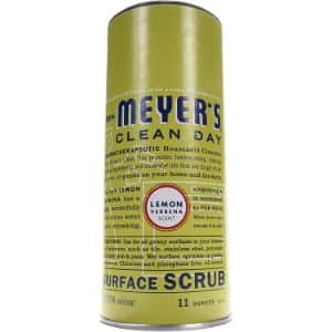 9. Mrs Meyer's Clean Day Surface Scrub, Lemon Verbena Scent, 11-ounce bottle