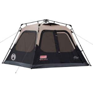 2. Coleman Cabin Tent with Instant Setup
