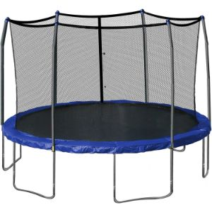 1. Skywalker 15-Feet Round Trampoline