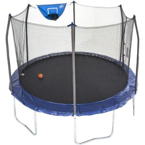 2. Skywalker 12-Foot Jump N' Dunk Trampoline