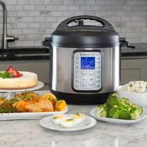 2. Instant Pot DUO Plus 6 Qt Instant Pressure Cooker