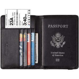 13. Travelambo Leather Passport Holder