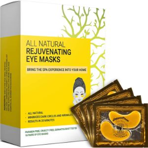 8. Doppeltree (18 Pairs) All Natural Under Eye Patches & Masks