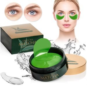 9. Once Upon A Tea Green Tea Matcha Firming Eye Mask