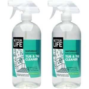 7. Better Life Natural Tub and Tile Cleaner, Tea Tree and Eucalyptus, 32 Fl Oz