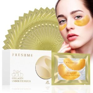 6. FRESHME 24K Golden Collagen Eye Pads