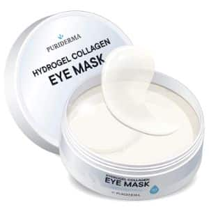 4. Puriderma Hydrogel Collagen Eye Mask
