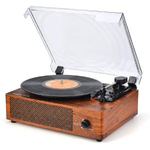 4. WOCKODER Record Player