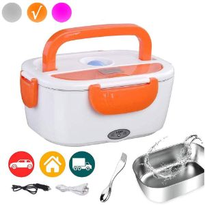 9. Electric Lunch Box & Food Heater