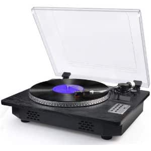 14. SeeYing Vinyl Record Player
