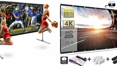 Best Portable projector screens