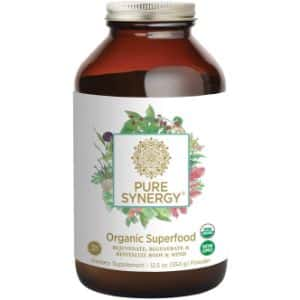 10. Pure Synergy Organic Superfood Powder