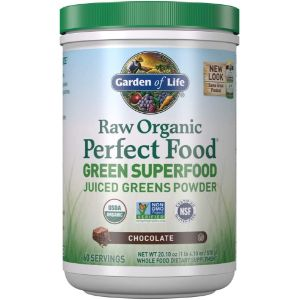 5. Garden of Life Chocolate Green Superfood Powdere