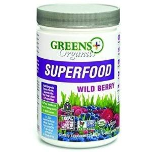 9. Greens+ Wild Berry Superfood Powder