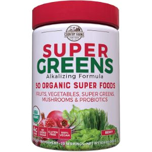 7. Country Farms Berry Superfood Powder