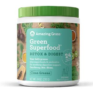 6. Amazing Grass Clean Greens Superfood Powder
