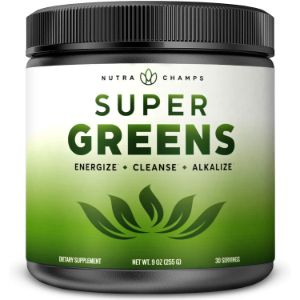 4. NutraChamps Super Green Superfood Powder