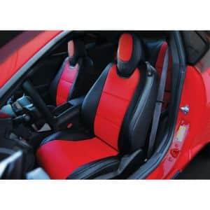 10. Iggee 2010-2015 Chevy Camaro Leather Seat Cover