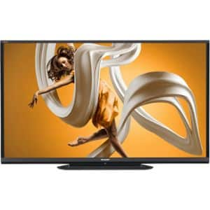 9. Sharp Aquos LC-80LE65OU 80-Inch Smart LED TV