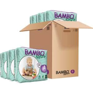 1. Bambo Nature 6 Packs of Organic Diapers