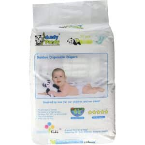 3. Andy Pandy Bamboo Disposable Organic Diapers