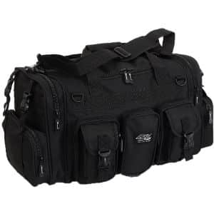 5. NPUSA Black Military Duffel Bag