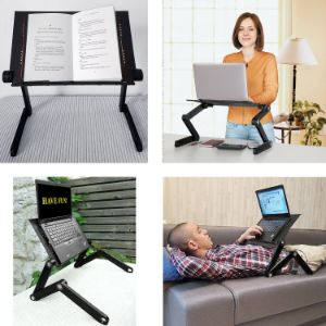 2. Wonderworker Portable Folding Computer Desk