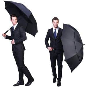 1. G4Free Black Automatic Large Umbrella
