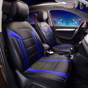 15. FH Group PU103115 Royal Leather Seat Cover