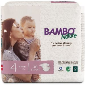5. Bambo Nature 30 Counts of Organic Diapers