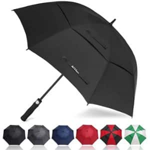 4.ACEIken Black Large Umbrella