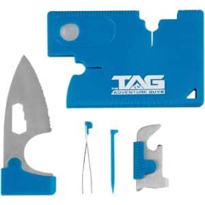 10. The Adventure Guys Credit Card Wallet Knife Tool