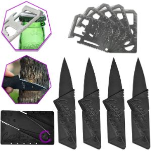 11. COFFFLED 10 Packs of Multi-tool and Wallet Knife