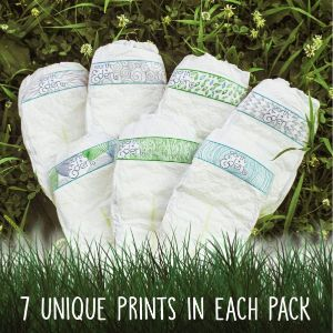 7. Earth+Eden Size 4 Organic Diapers