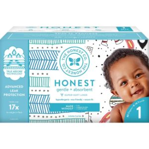 6. The Honest Company Size 1 Organic Diaper