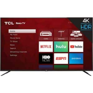 3. TCL 75S425 75-Inch ROKU Smart TV