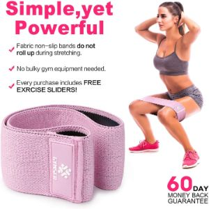 12. GYMSER Upgraded Booty Band