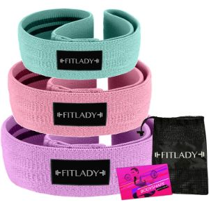 13. FITLADY Set of 3 Booty Bands
