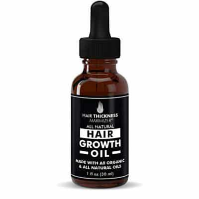 BEST Organic Hair Growth Oils from Hair Thickness Maximizer: