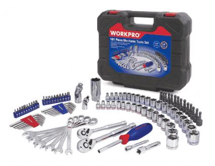 Apollo Tools 95 Piece Mechanics Tool Kit:
